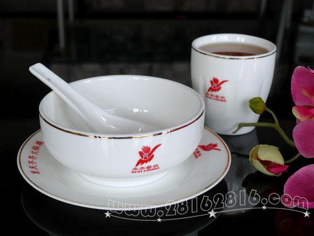 现代时尚火锅餐具 火锅摆台台面陶瓷餐具